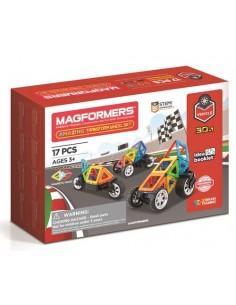 Magformers 17 Pcs Vehicle