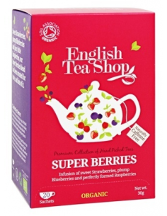 "English Tea Shop Organic ""Super Berries"""