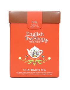 "English Tea Shop Organic "" Chai Black Tea """