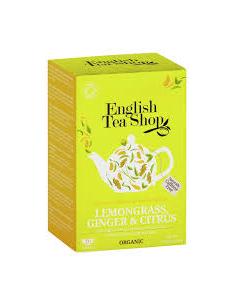 English Tea Shop Organic Lemongrass Citrus & Ginger