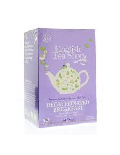 "English Tea Shop Organic "" Decaffeinated Breakfast """