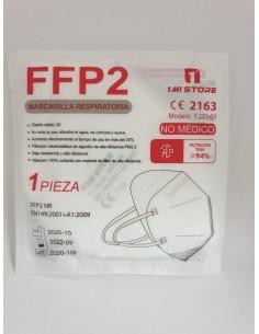 MASCARA FFP2 BLANCA NORMA CE