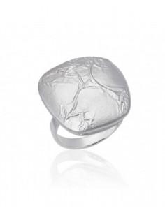 anillo de plata audrey