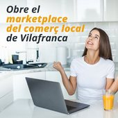 A partir d'avui, si ets de Vilafranca o vius a menys de 14km, ja pots comprar a l'hora que vulguis i des del teu dispositiu favorit al comerç local de Vilafranca, i nosaltres t'ho portem a casa. Fes la teva compra completa, amb un únic pagament encara que compris a diferents comerços, i nosaltres t'ho portem a casa.  No t'ho perdis, es l'hora de ser aprop del comerç de Vilafranca.  https://vilafranca.aprop.online/ca/
